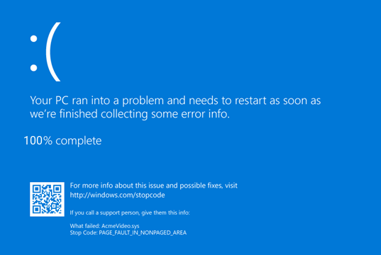 Blue Screen v4